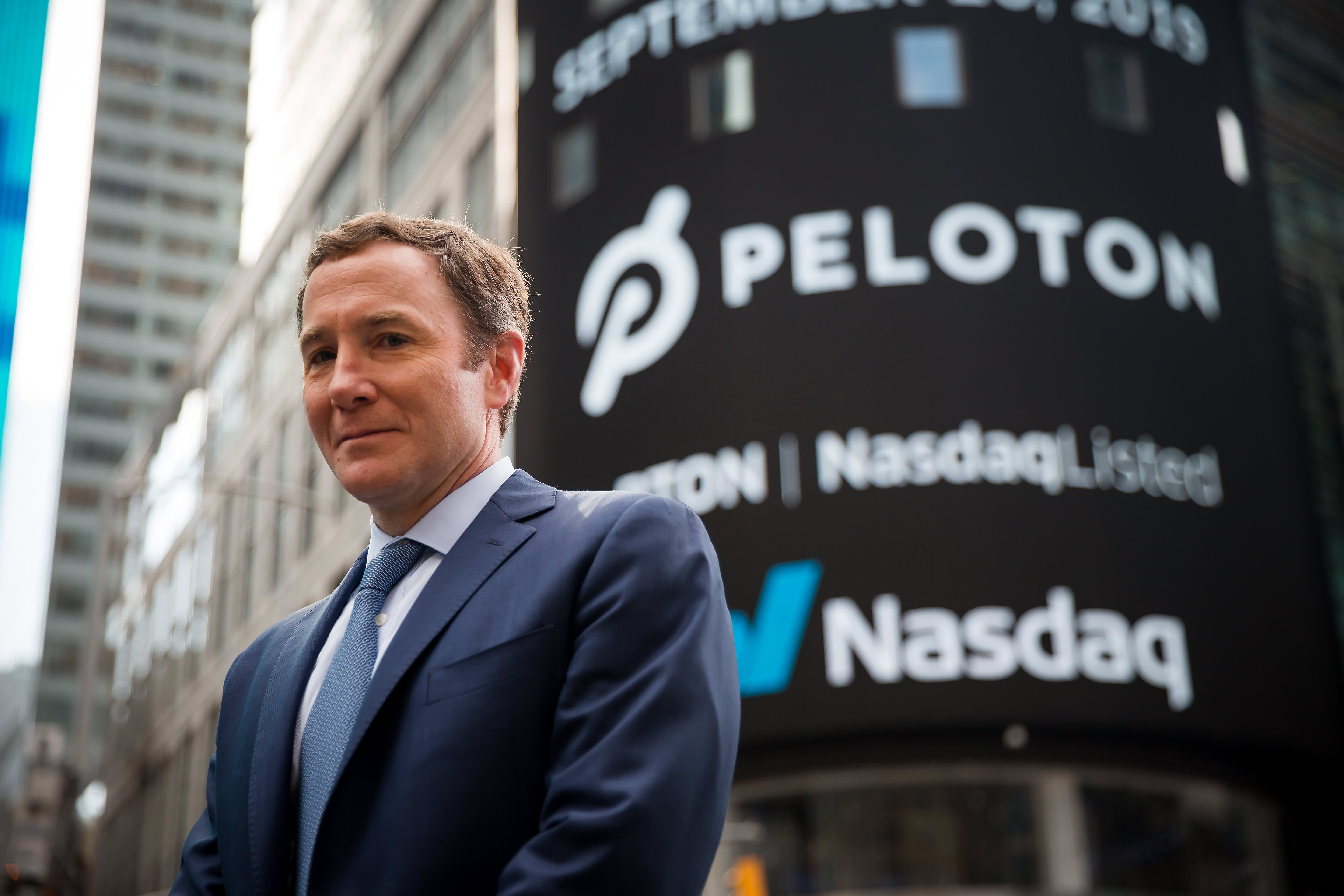 Peloton shares jump nearly 9% on report a cheaper treadmill and new rowing machine will launch next year