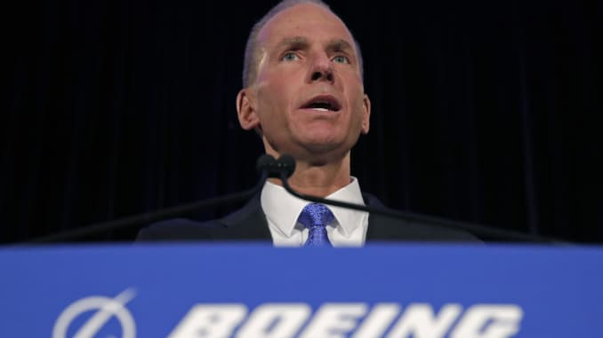 GP: Boeing Holds Annual Shareholders Meeting In Chicago 1