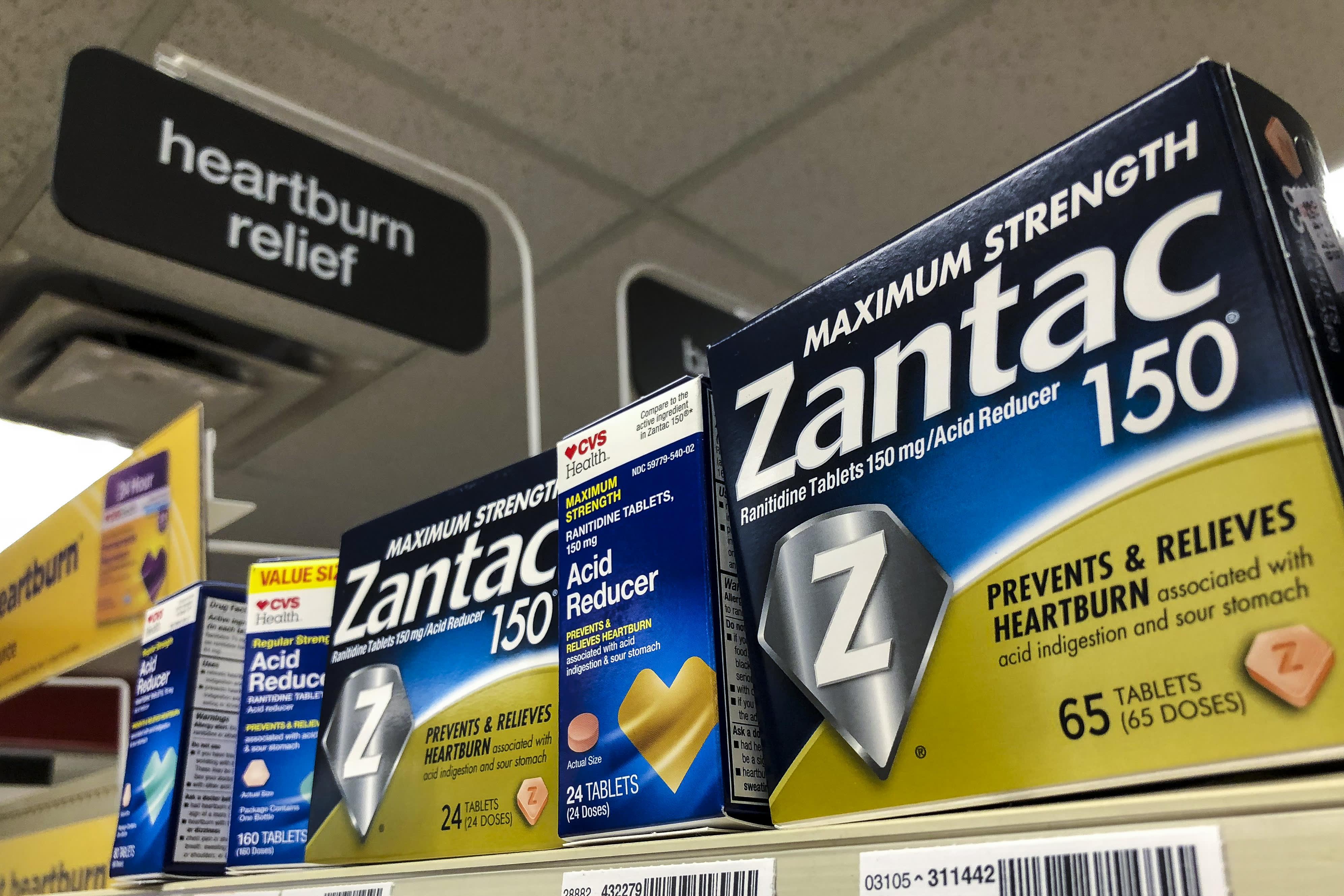 Walgreens joins CVS in suspending sales of heartburn medicine Zantac during safety review
