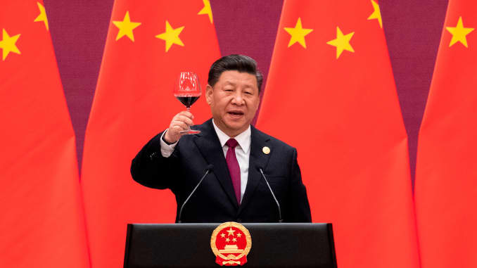 GP: Xi Jinping China China-DIPLOMACY-TRADE 1