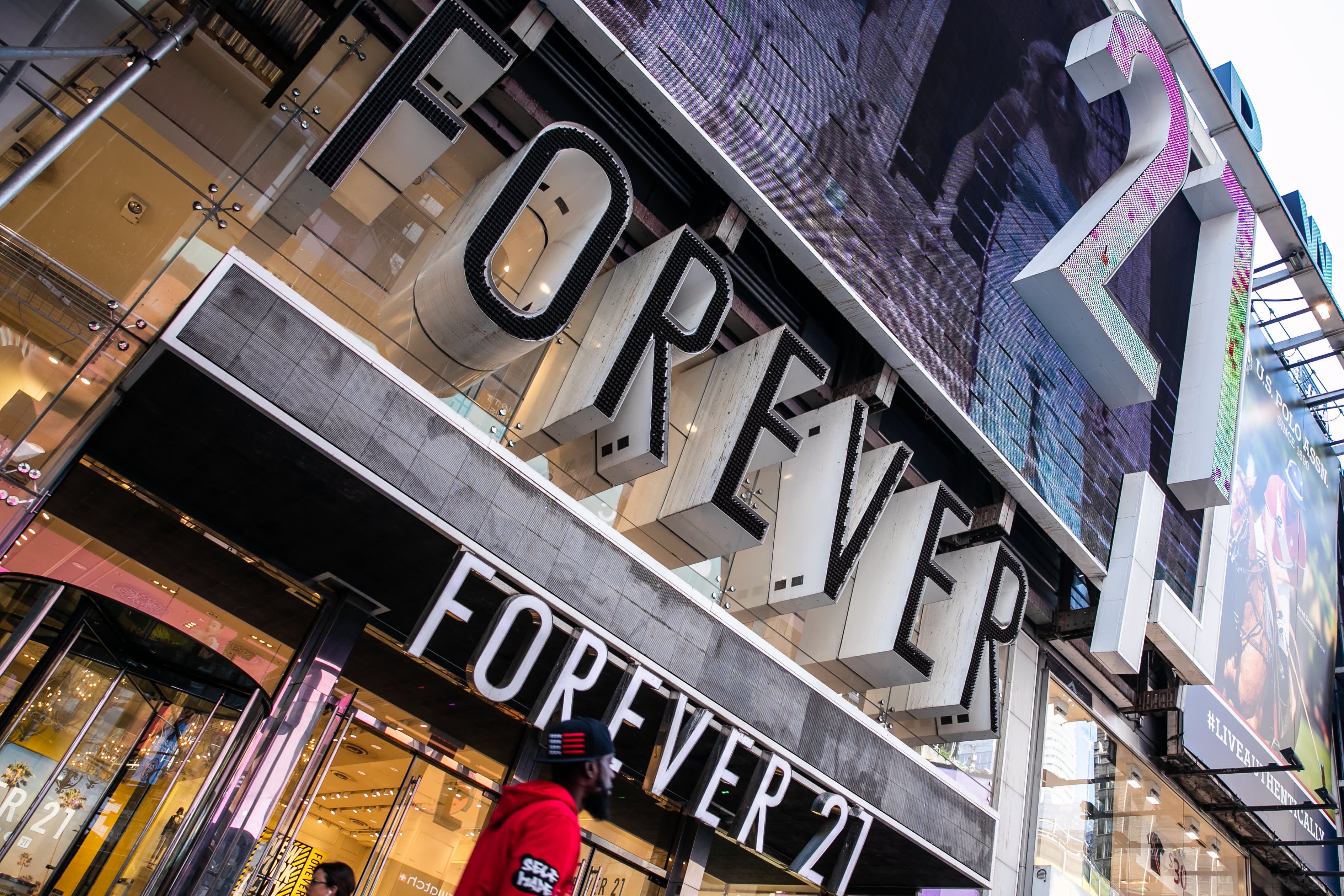 Here's a map of the Forever 21 stores that could close by the end of the year