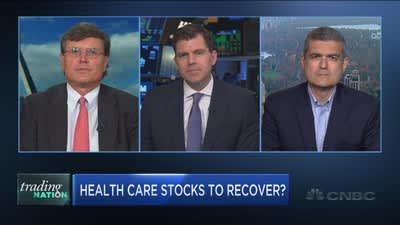 Image result for Health-care stocks are in their longest losing streak since 2016