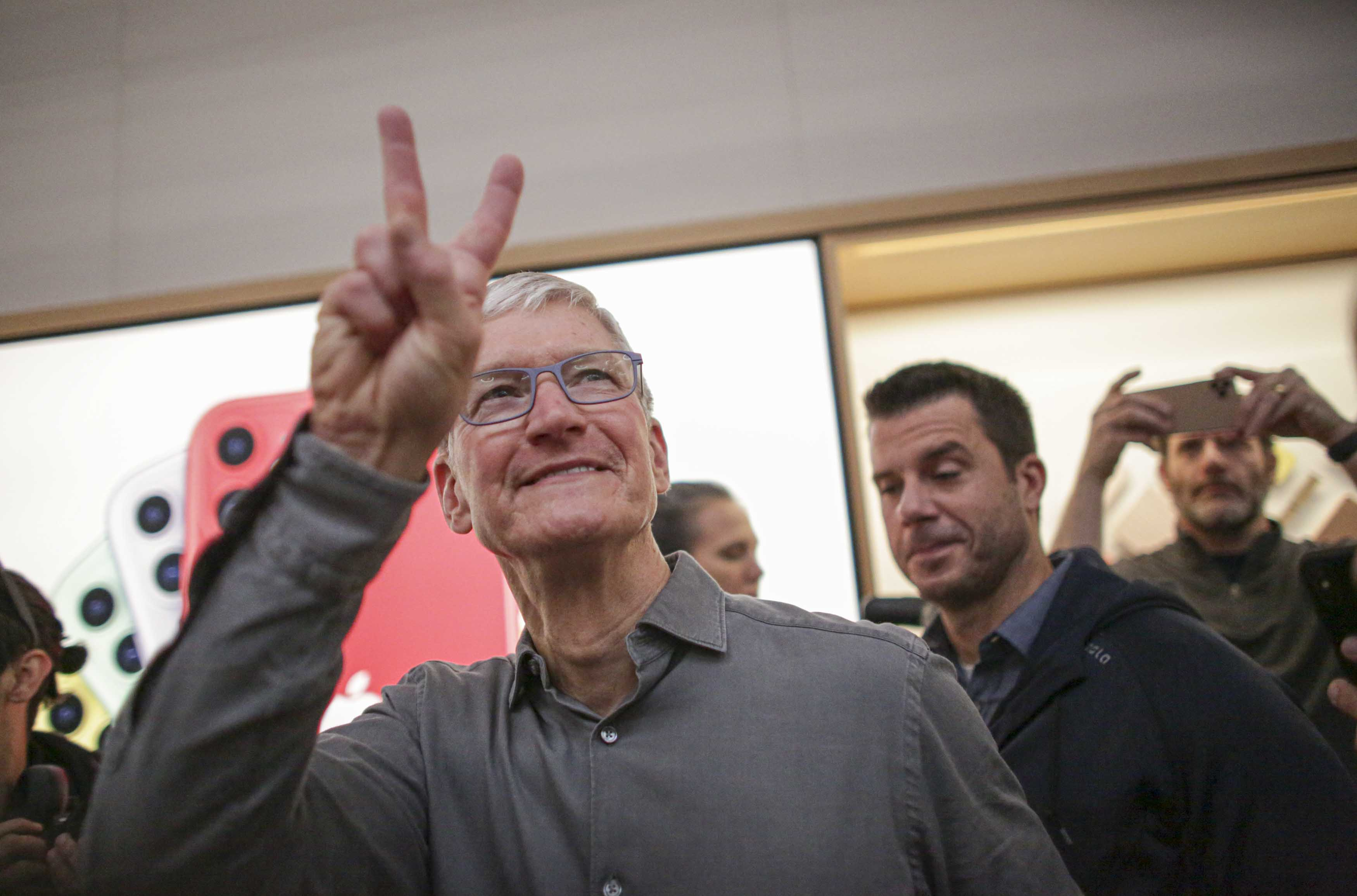 Apple has hit another all-time high, and one trader says more records are ahead