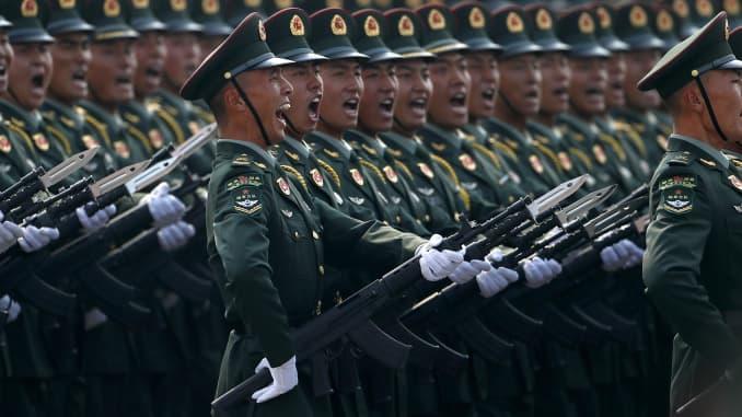 GP Military Parade at China 70th Anniversary 191002
