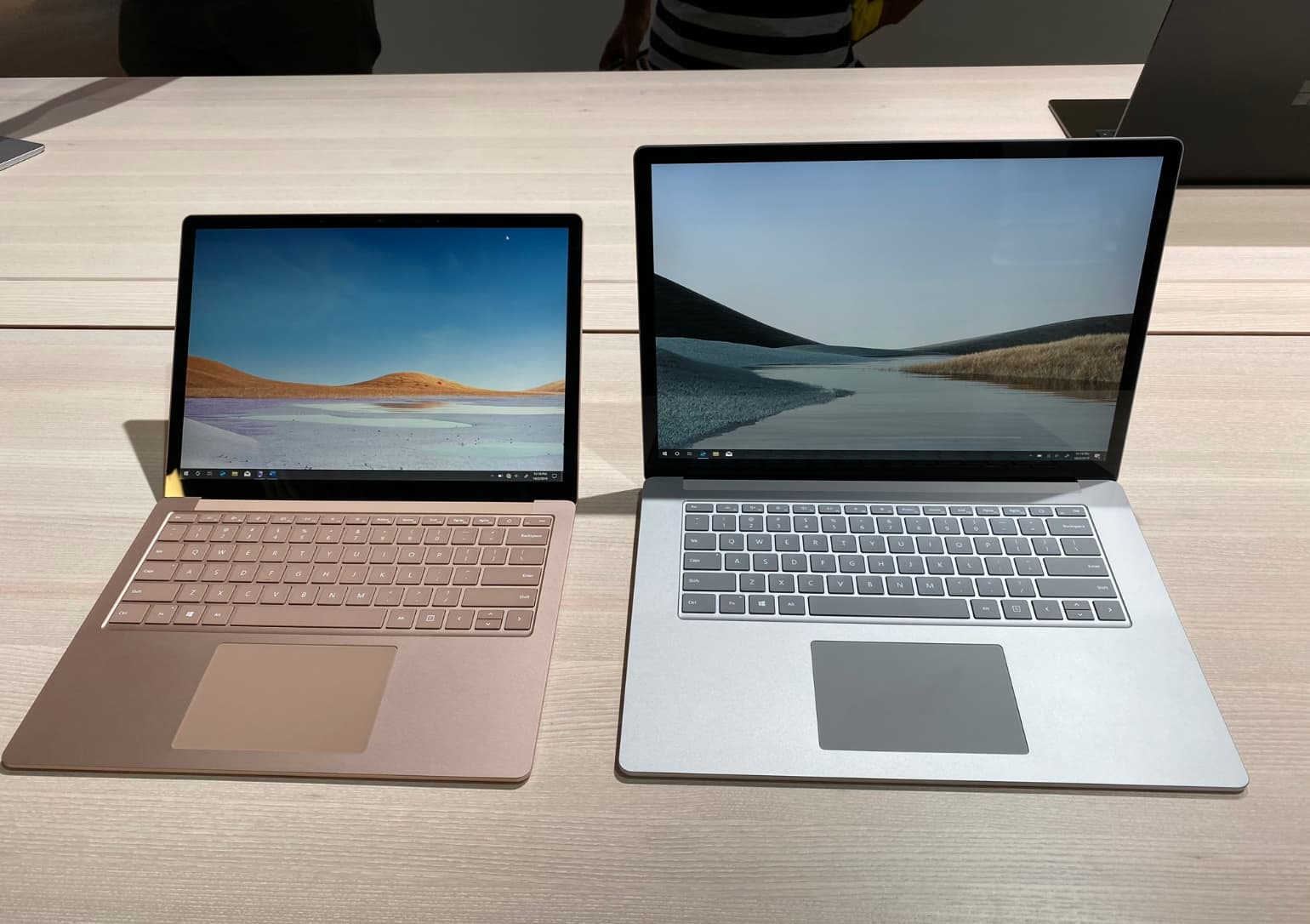 Here's a first look at Microsoft's folding phone and dual-screen laptop — plus the new Surfaces