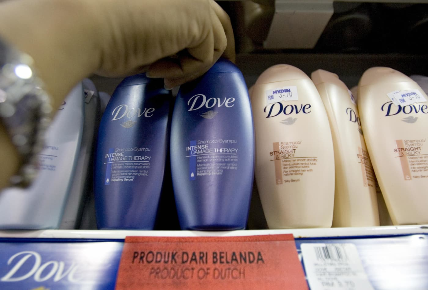 Unilever says it wants to halve its use of 'virgin' plastic by 2025