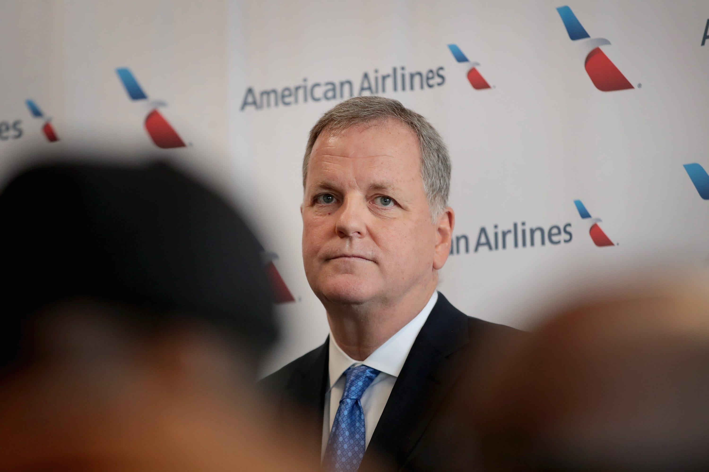 Poor morale, sliding stock: Pressure mounts on American Airlines CEO Doug Parker