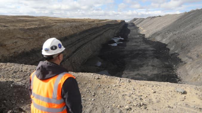 RT: Wyoming coal mine
