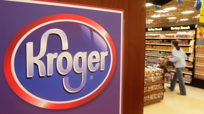 AP: Kroger supermarket 110301
