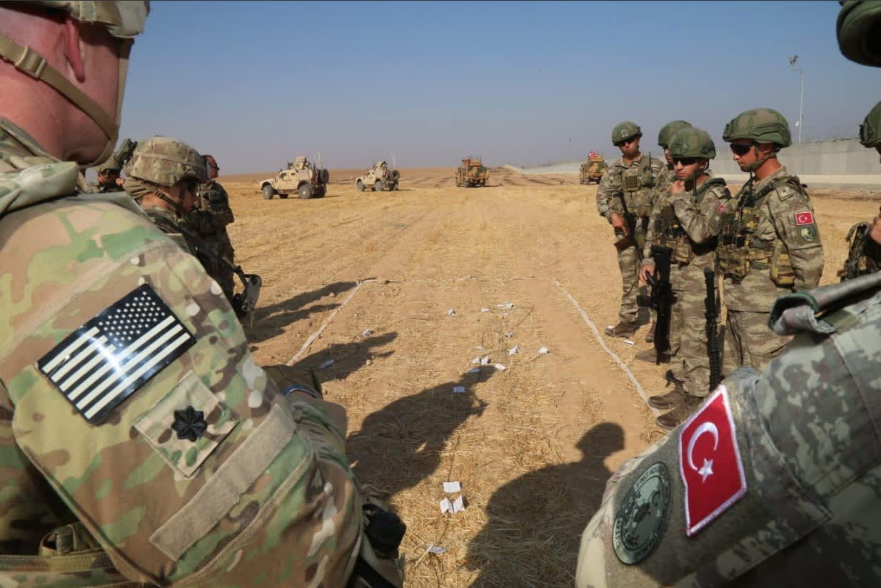 US says troops in Syria came under Turkish fire; says area was 'known by the Turks' to have Americans present