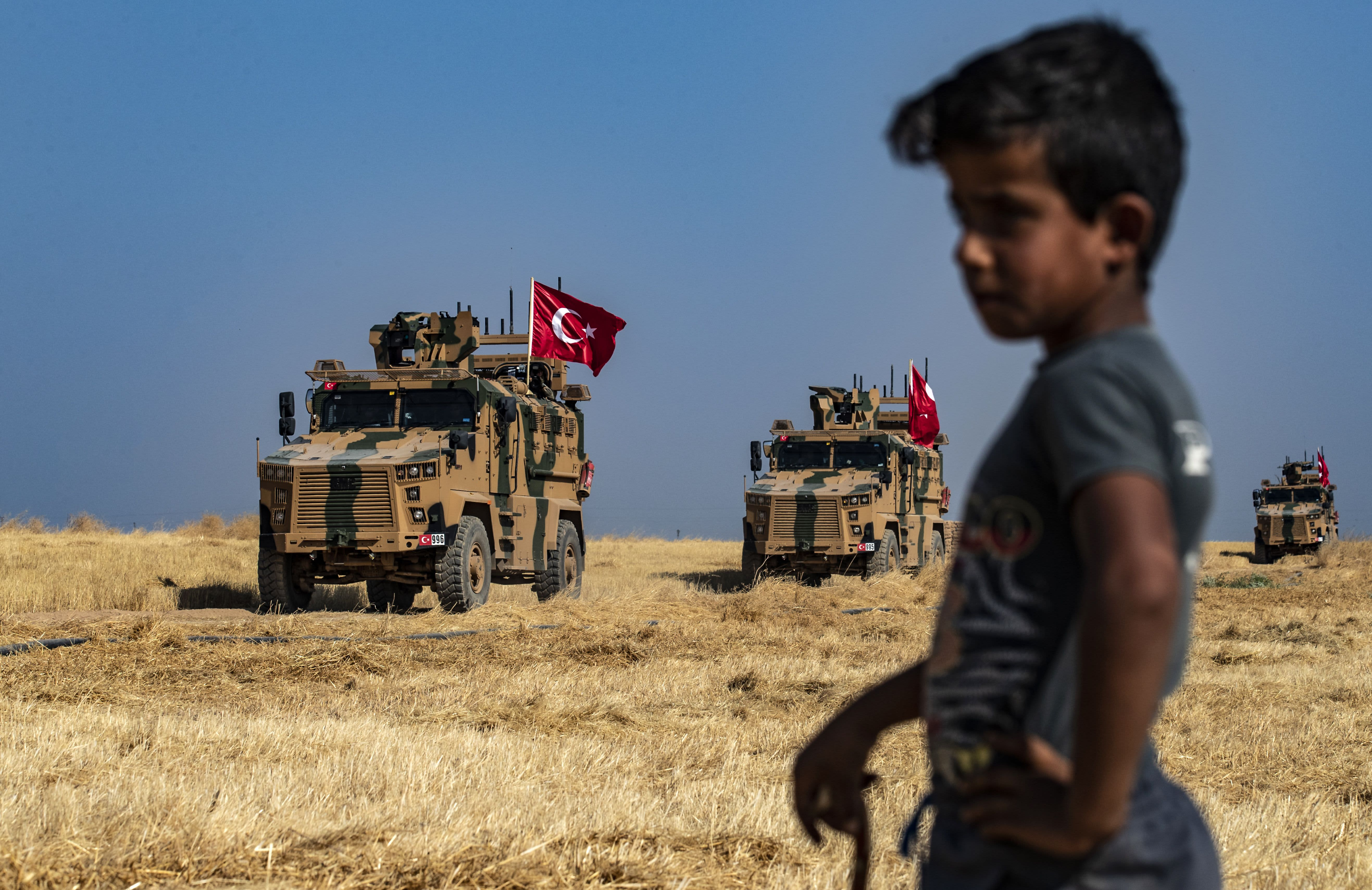 Turkish President Erdogan confirms military operation in northern Syria has begun