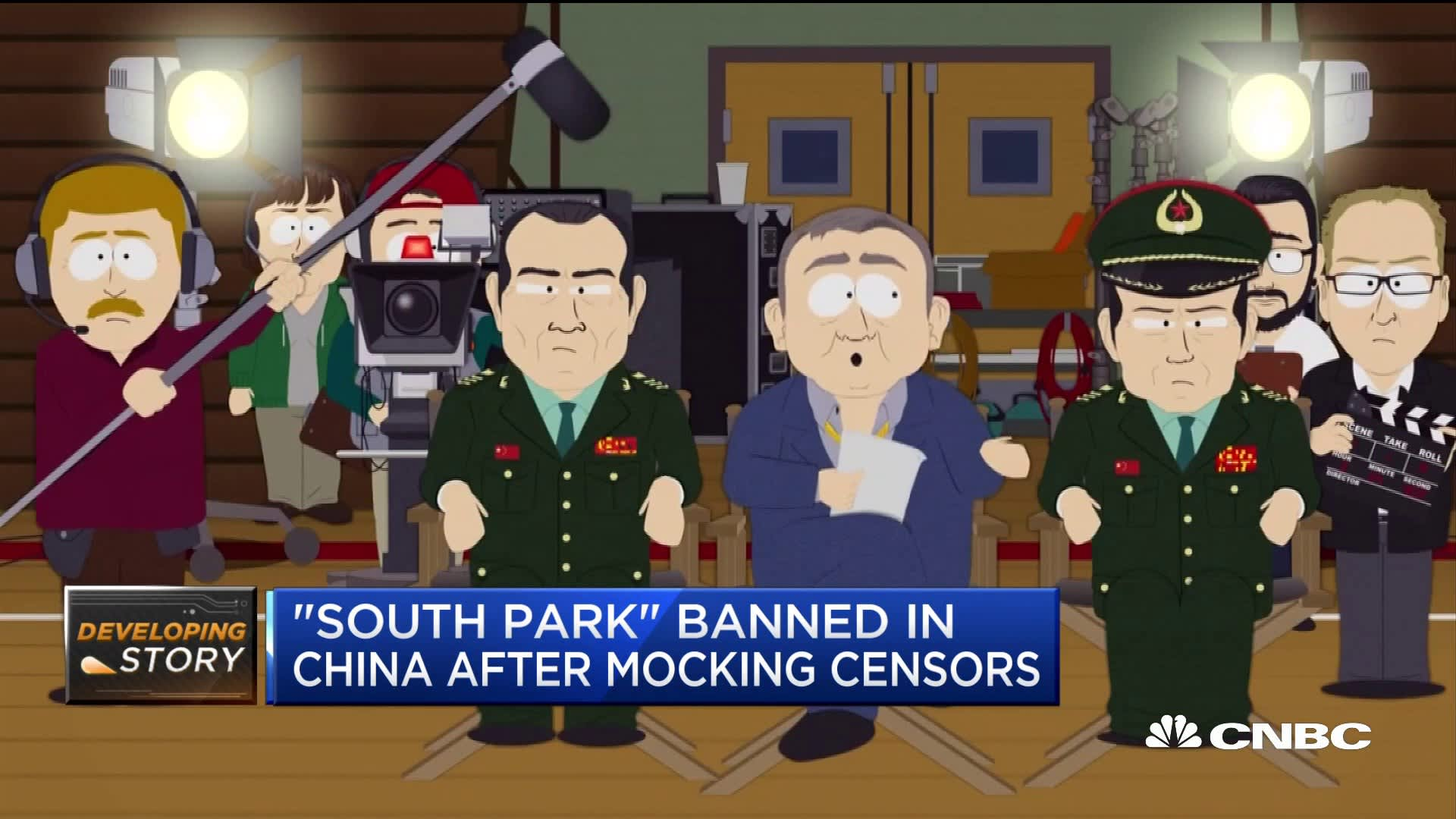 South Park' banned in China after mocking censorship