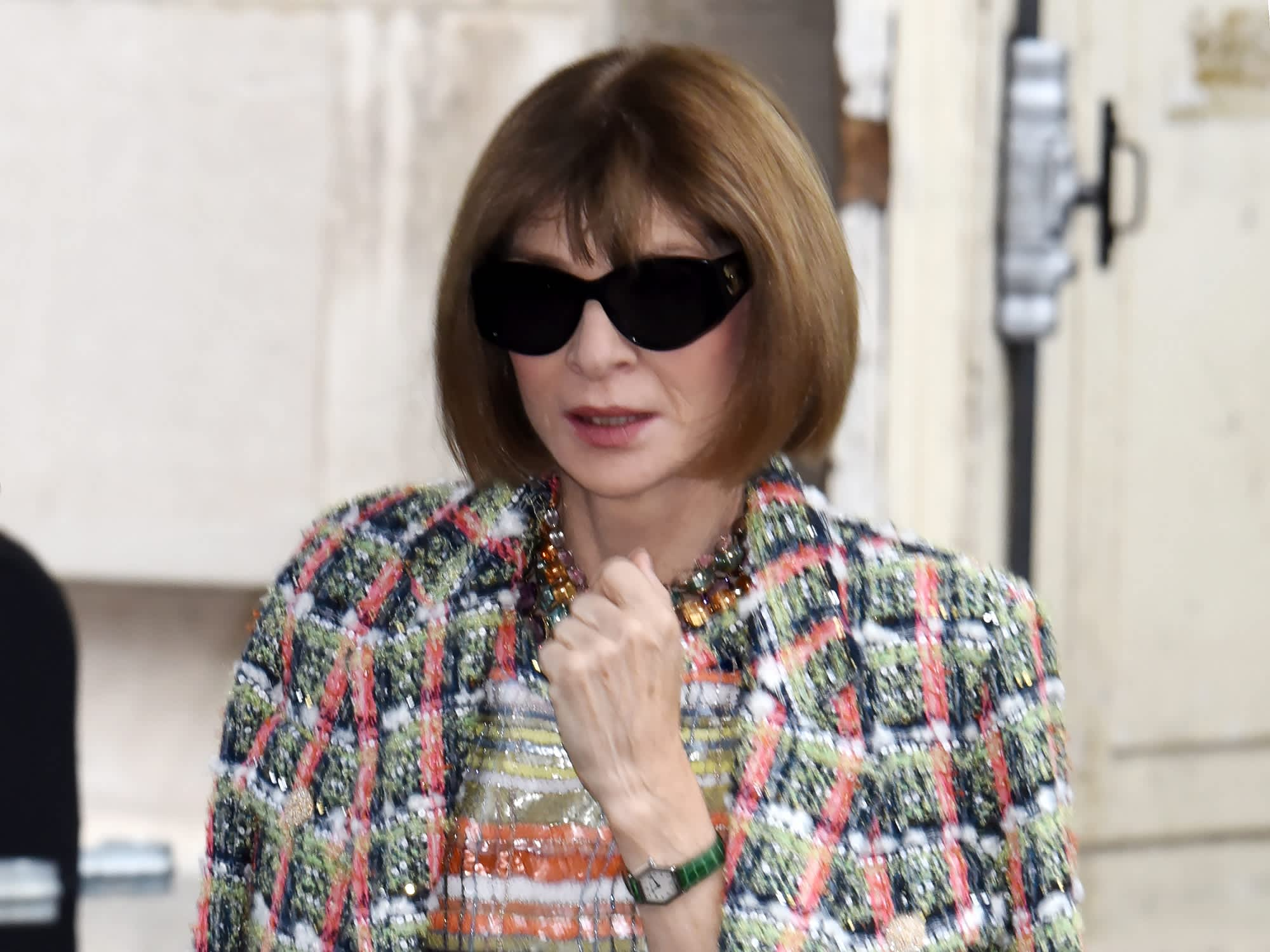 Vogue's Anna Wintour: Daily routine includes a 4 a.m. wake up call and her 'magic box of tricks'