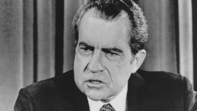 GP: Richard Nixon President Usa Watergate