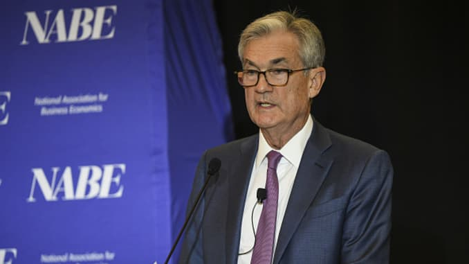 GP: Jerome Powell Key Speakers At The NABE Annual Meeting