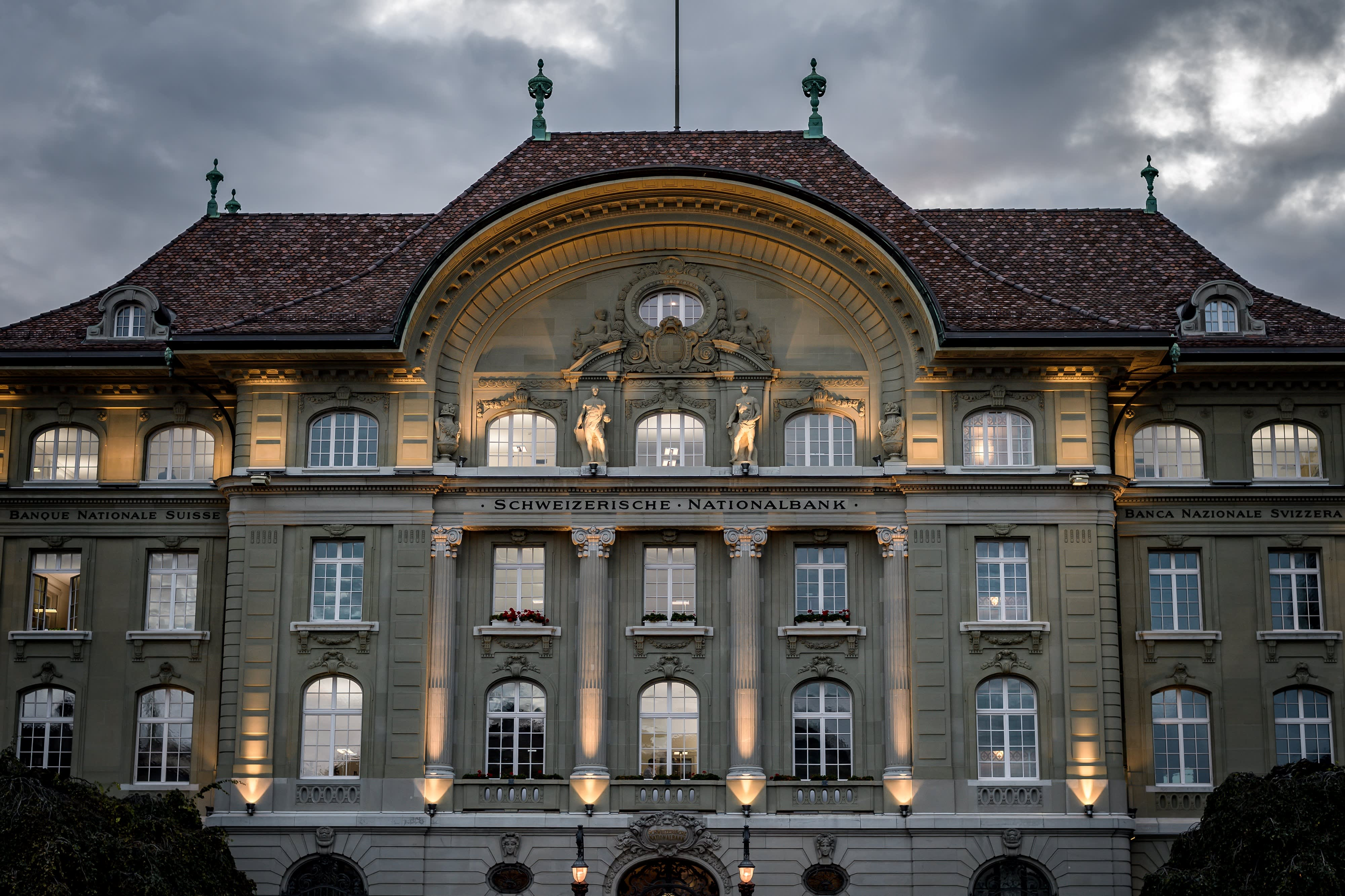 Switzerland's central bank is exploring the use of digital currencies for trading