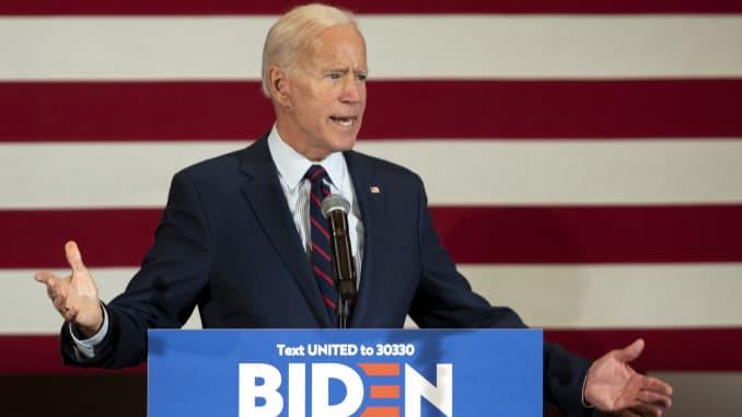 GP: Former Vice President Joe Biden Makes Campaign Stops In New Hampshire