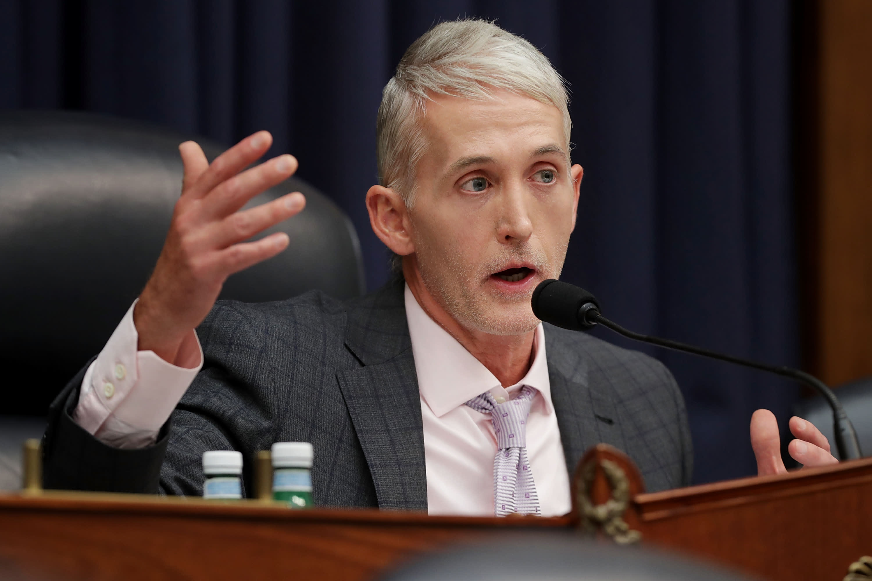 Trump says former Rep. Trey Gowdy can't join his legal team until January