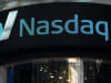 The Times Square NASDAQ MarketSite is seen on March 2, 2015 in New York City.