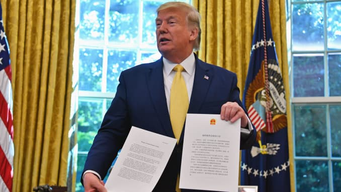 GP: Donald Trump trade deal US-CHINA-TRADE-ECONOMY-DIPLOMACY