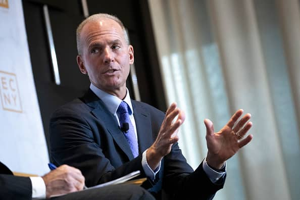 Boeing CEO loses chairman title as company separates roles after 737 Max crisis