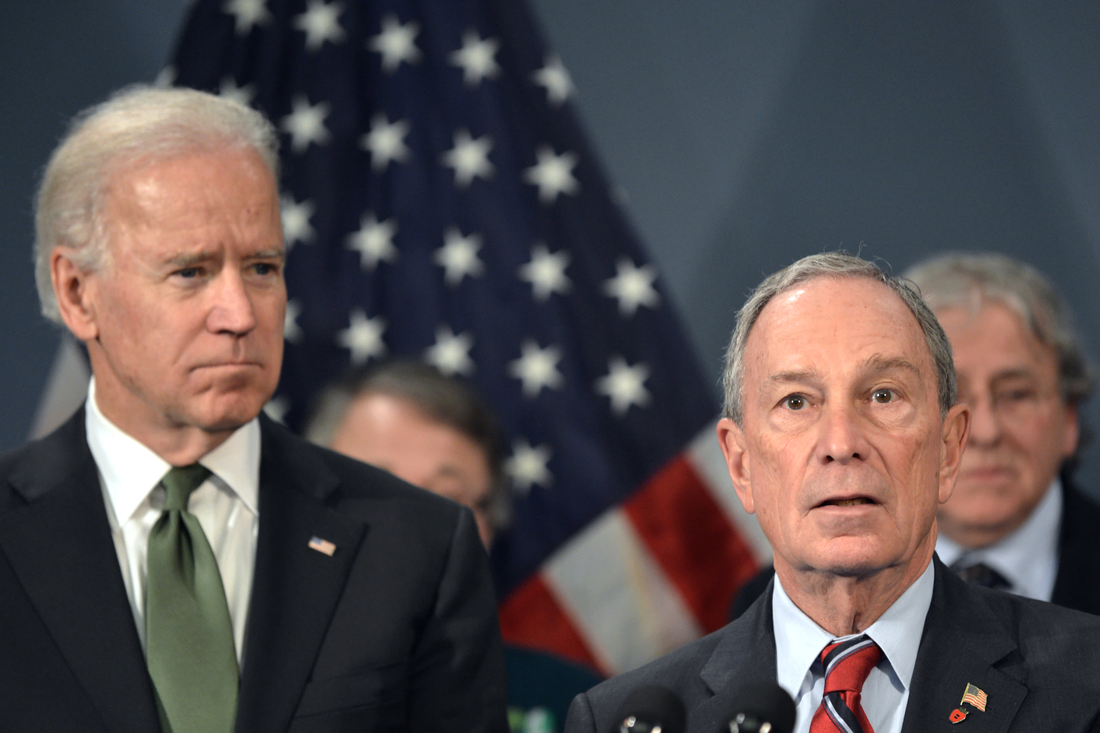 Bloomberg takes the air out of Biden, political reporters agree
