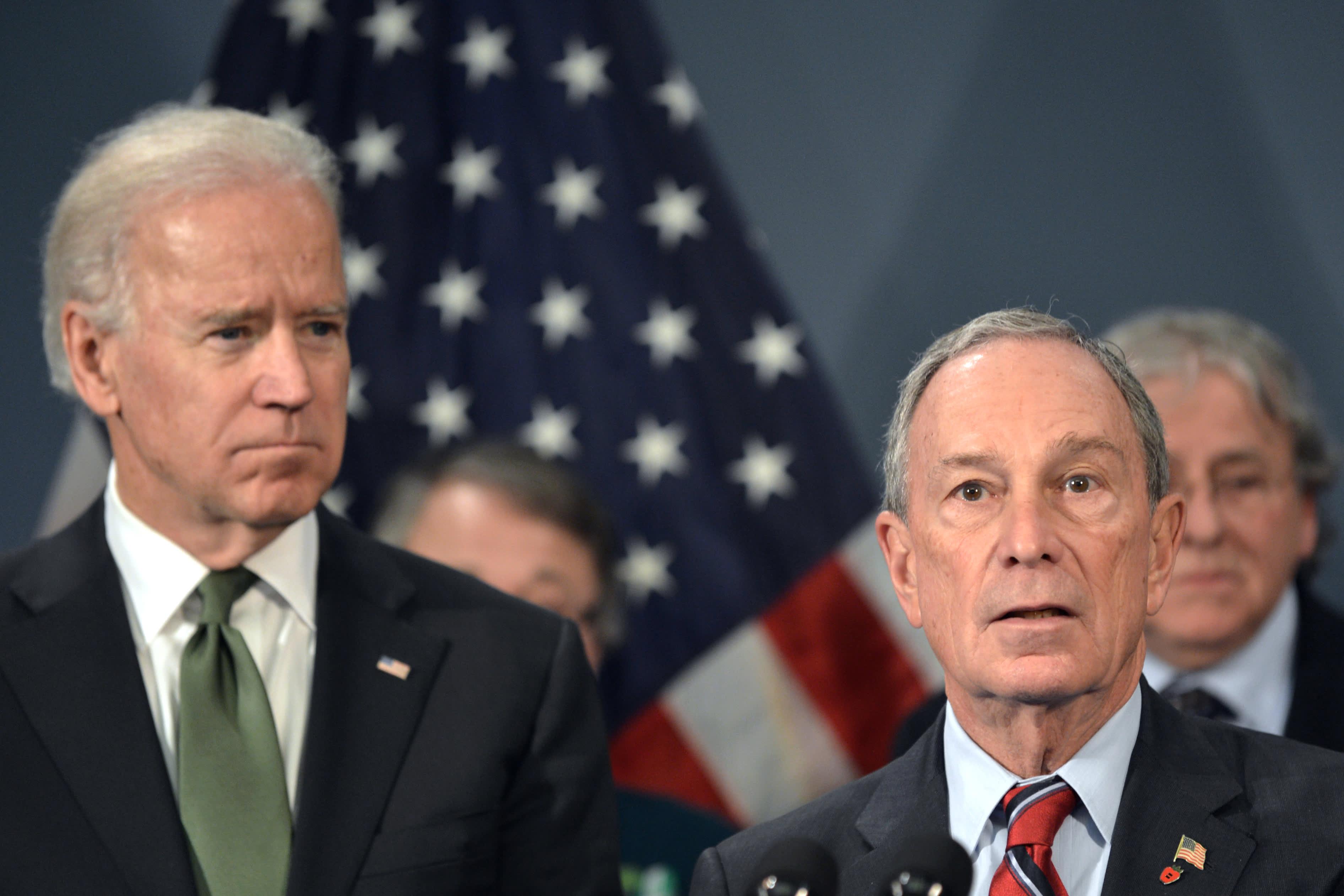 Biden and Bloomberg are bigger threats to Big Pharma than Warren, analyst says