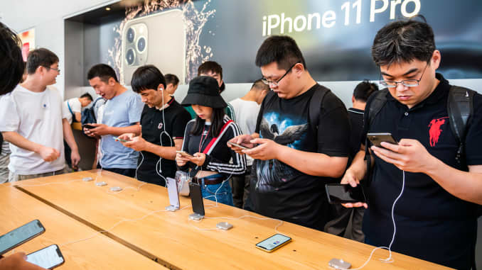 GP: Apple iPhone 11 in China 190920