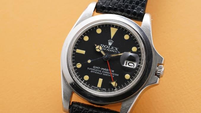 H/O: Marlon Brando's Rolex GMT-Master Ref. 1675.