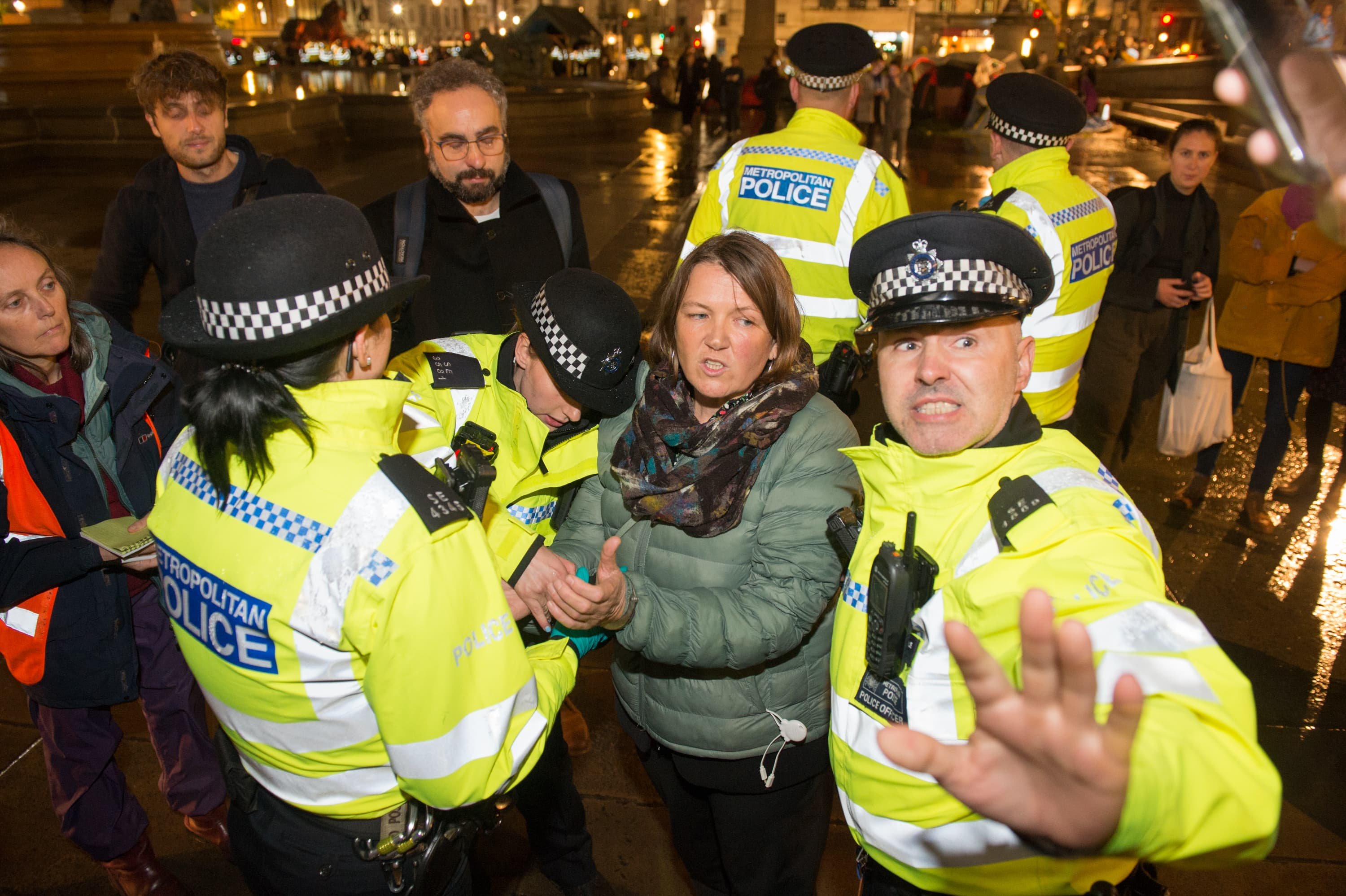 British police issue a city-wide ban on climate change protests in London