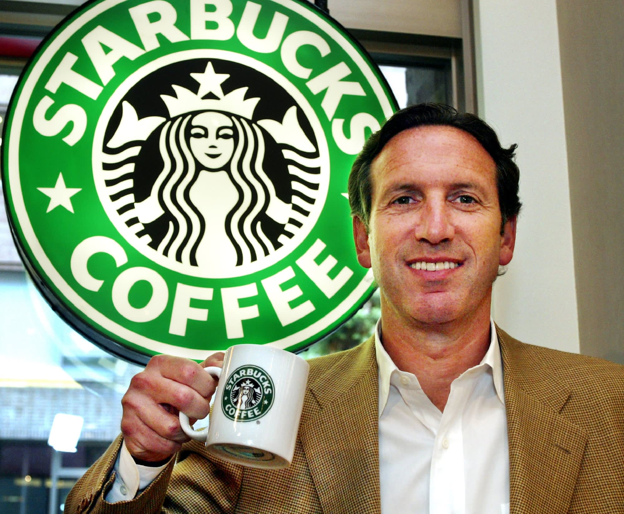 How Howard Schultz conquered self-doubt to build Starbucks