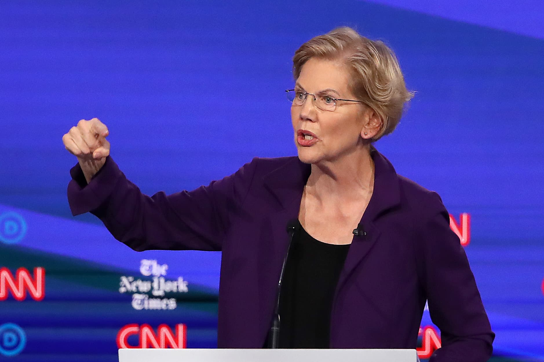 Elizabeth Warren's real 'beef with billionaires'