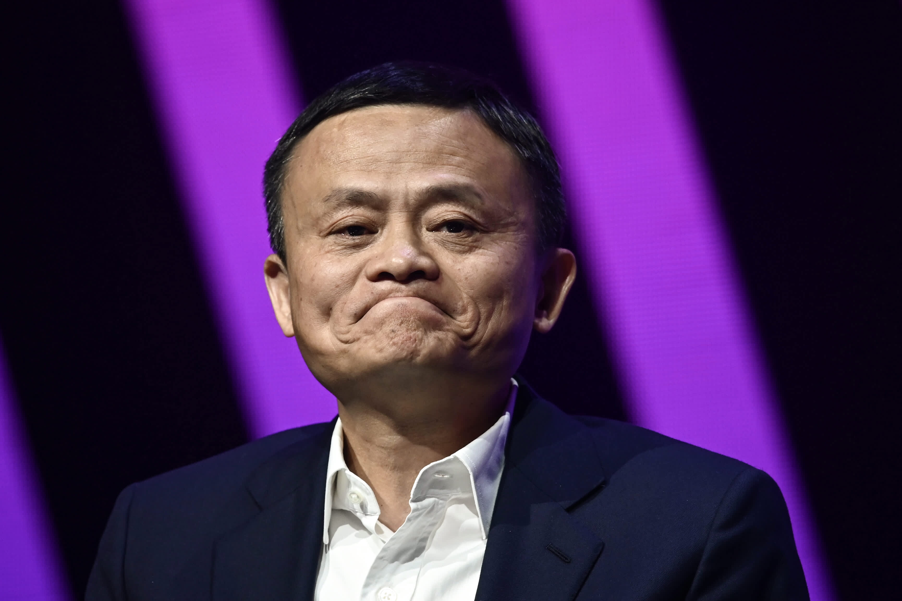 Alibaba founder Jack Ma is lying low for the time being, but he's not missing