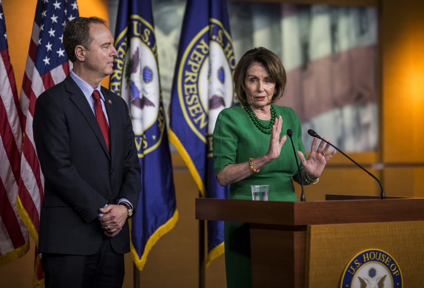 House Democrats will not hold a vote authorizing impeachment probe, which White House sought
