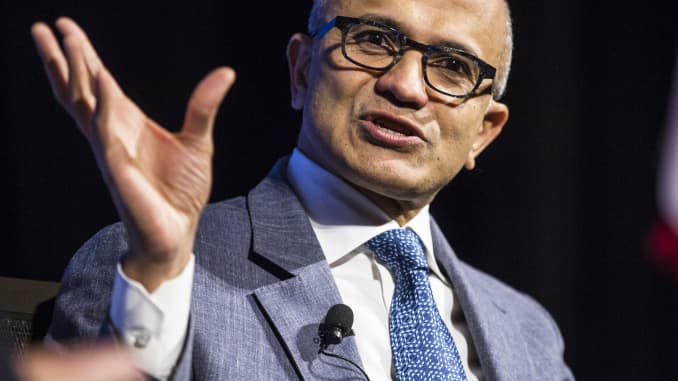 GP: Microsoft CEO Satya Nadella Economic Club Of Washington Discussion 171004