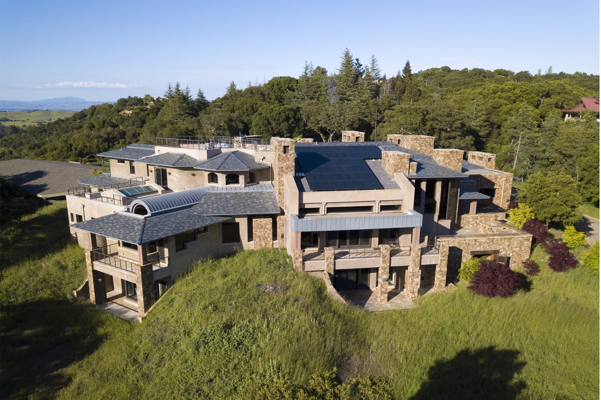 Tech billionaire slashed price of his Silicon Valley mansion from $96.8 million to $54.8 million—take a look inside