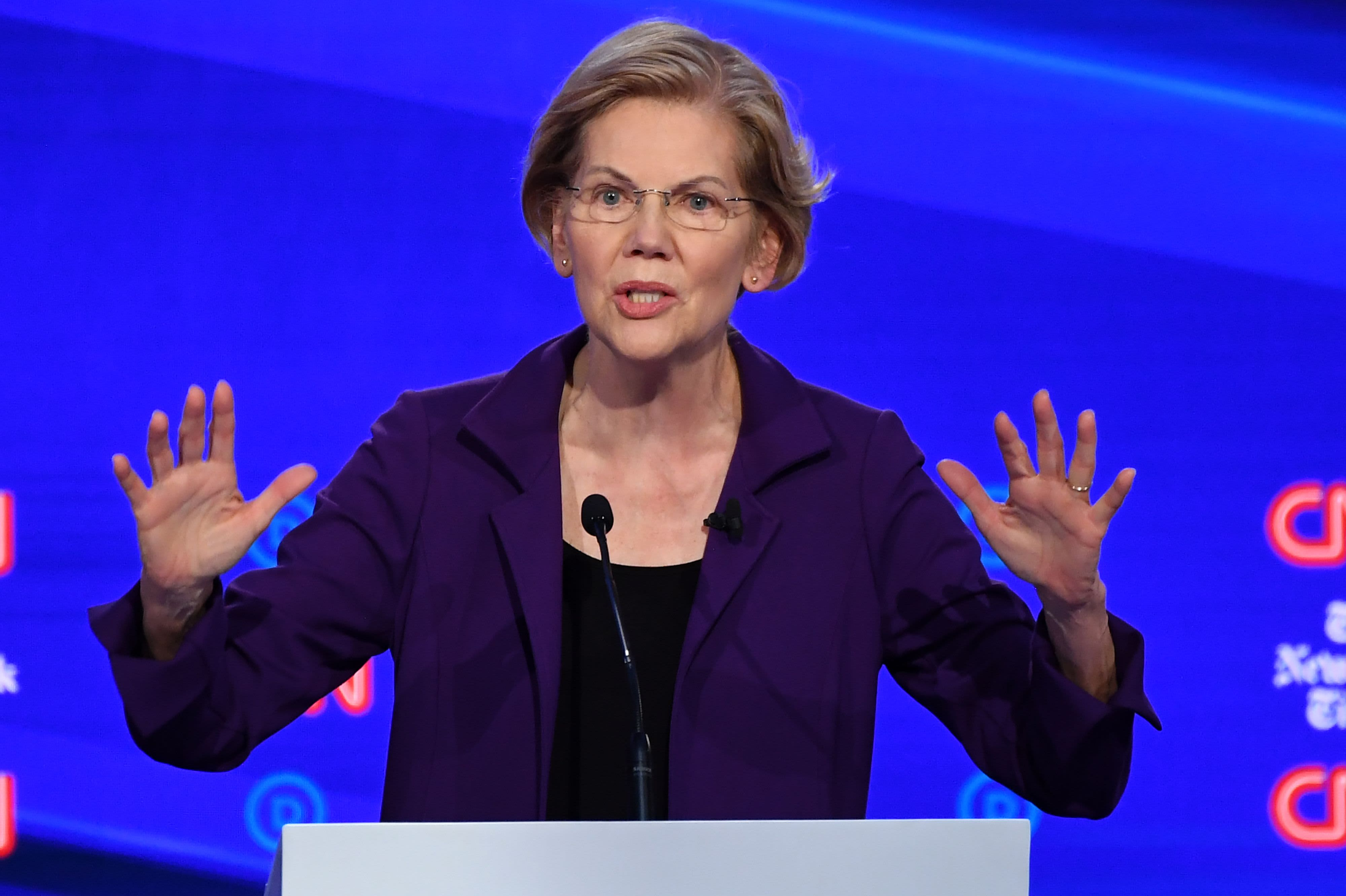 Elizabeth Warren shares a 'calculator for billionaires' for her wealth tax plan
