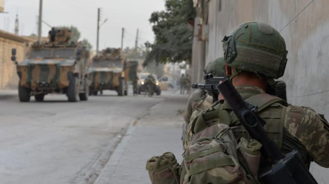 GP: Turkey forces Operation Peace Spring in northern Syria