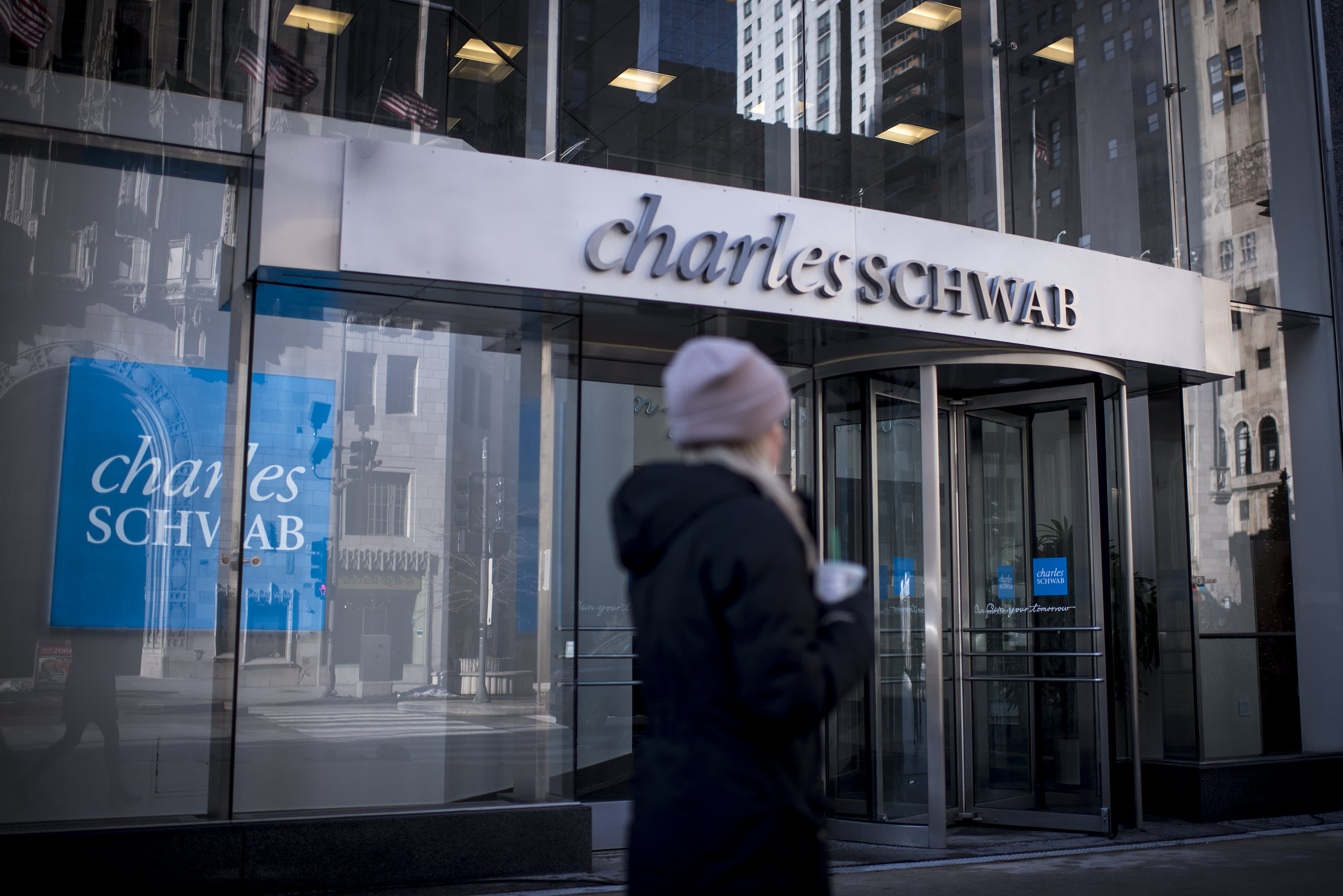 The latest in the brokerage wars: Charles Schwab will allow people to buy fractions of stocks