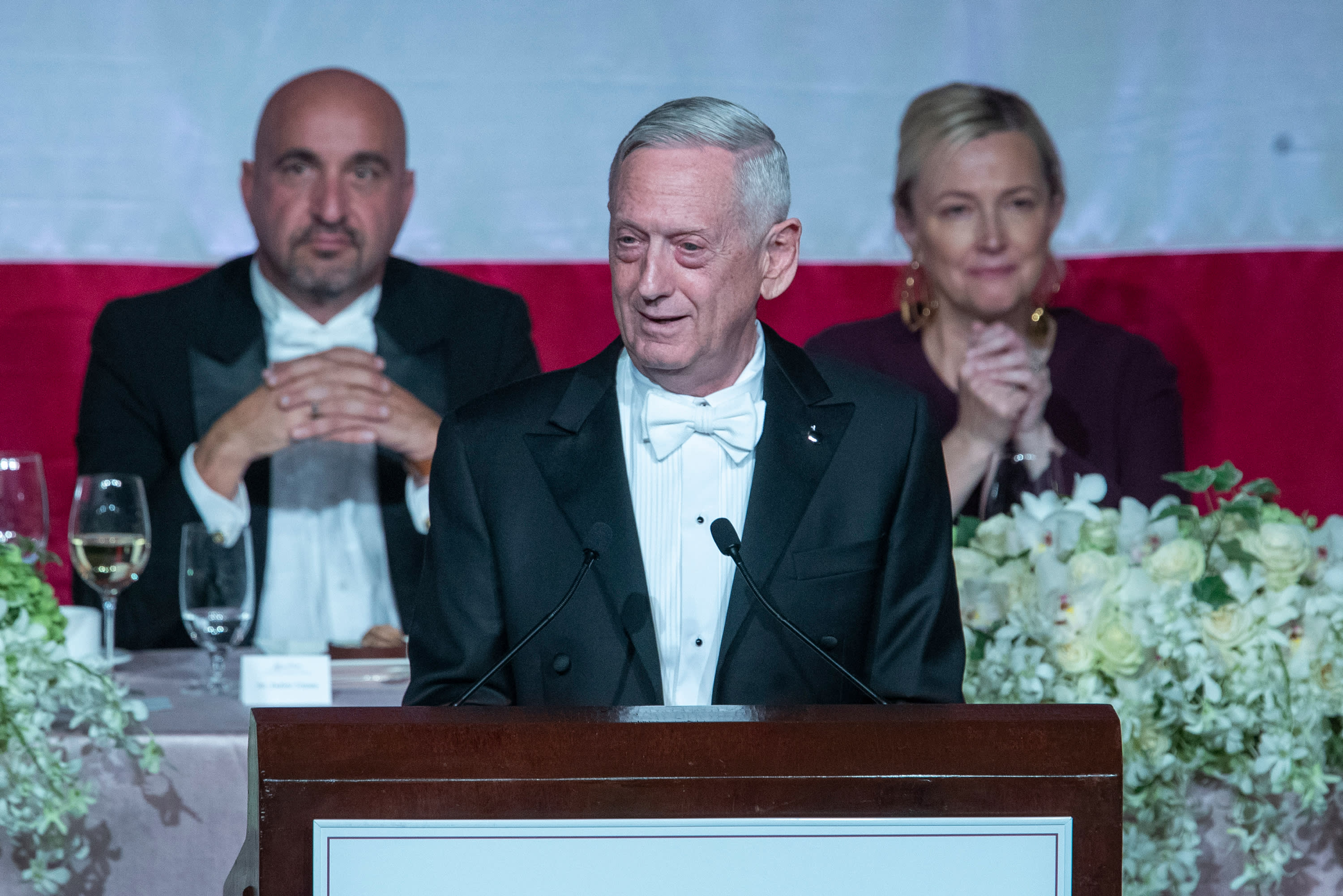 'Overrated general' Mattis zings Trump at a New York charity gala