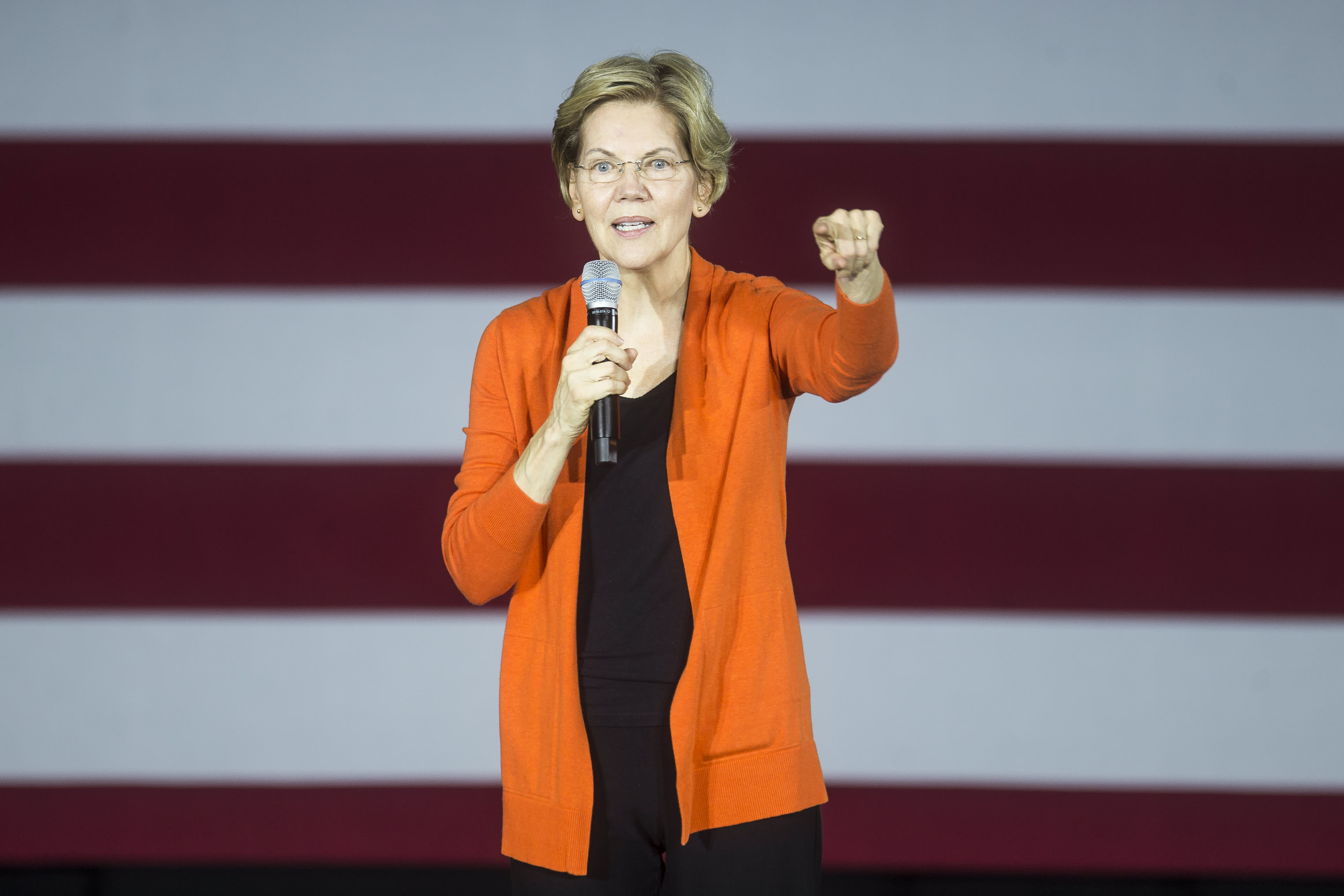 Elizabeth Warren's education plan would massively increase funding and her wealth tax would pay for it