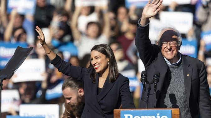 GP: U.S. Representative Alexandria Ocasio-Cortez & U.S. Senator Bernie Sanders