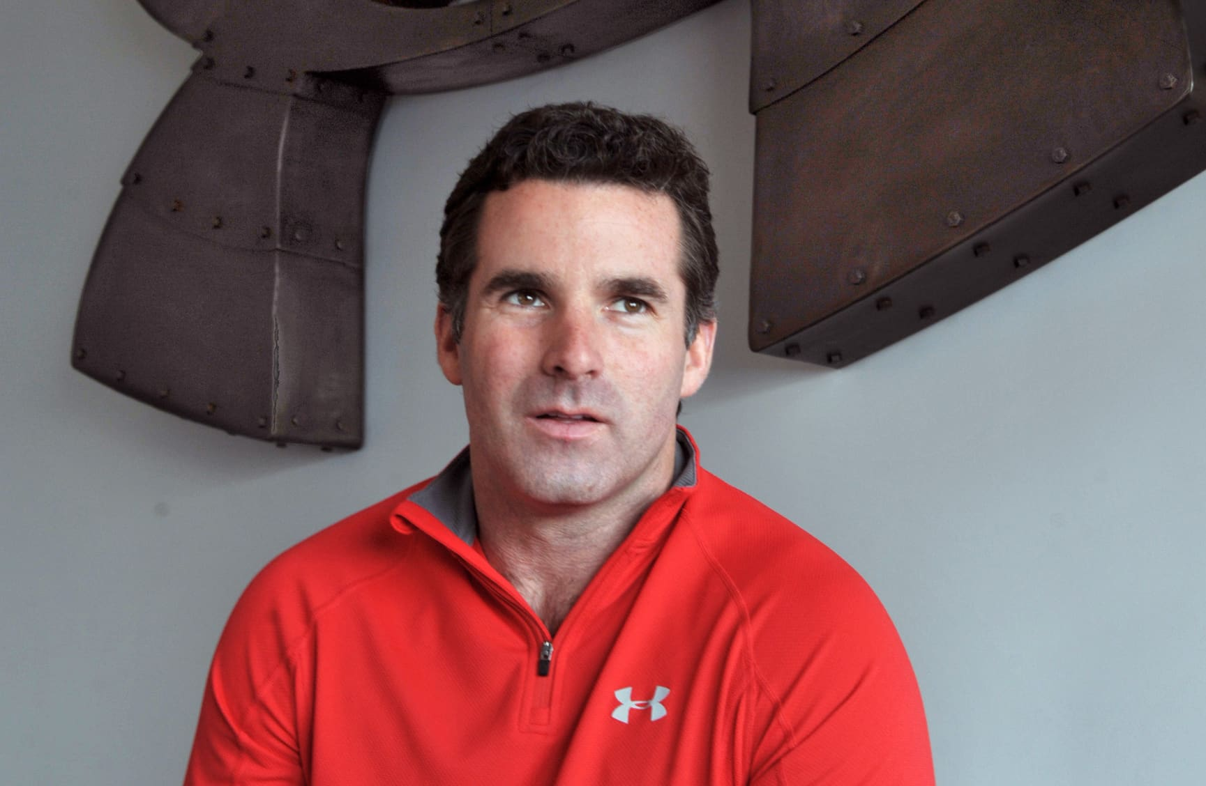 Kevin Plank started Under Armour in his grandmother's basement; 23 years later, he hands over the reins