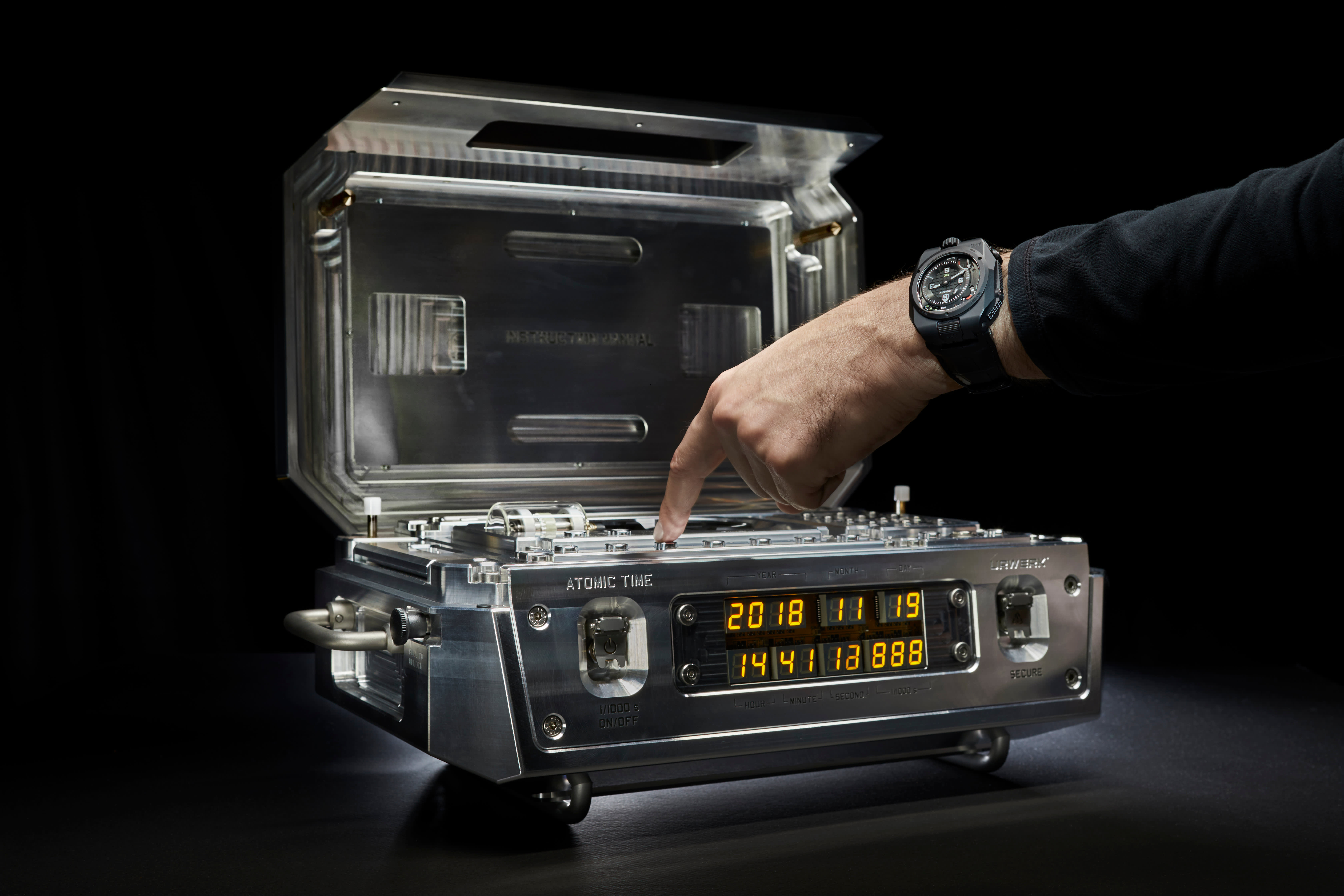 This $2.7 million watch looks straight out of a James Bond movie and keeps the world's most accurate time
