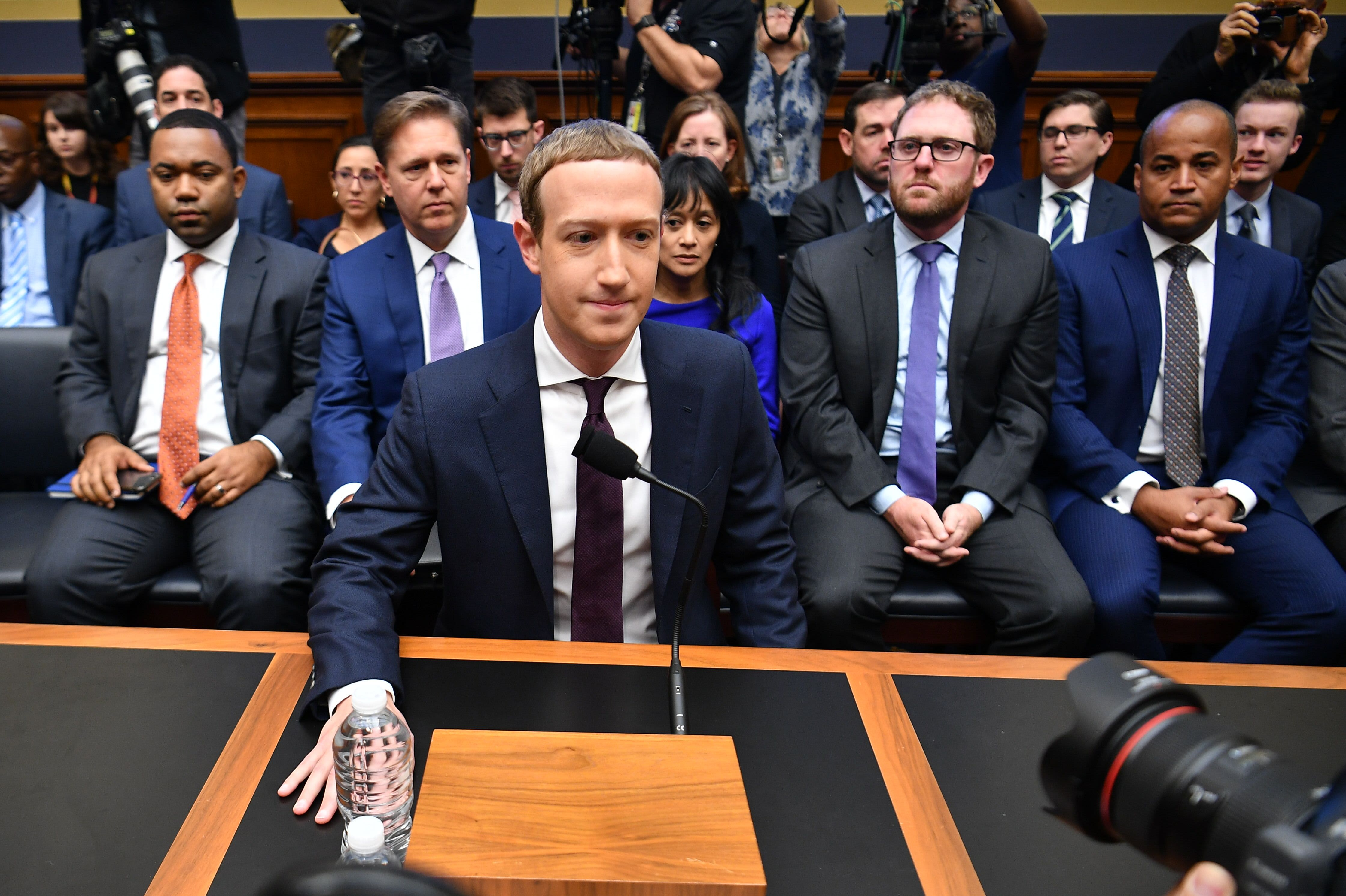 Zuckerberg testimony begins: 'I actually don't know if libra is going to work'