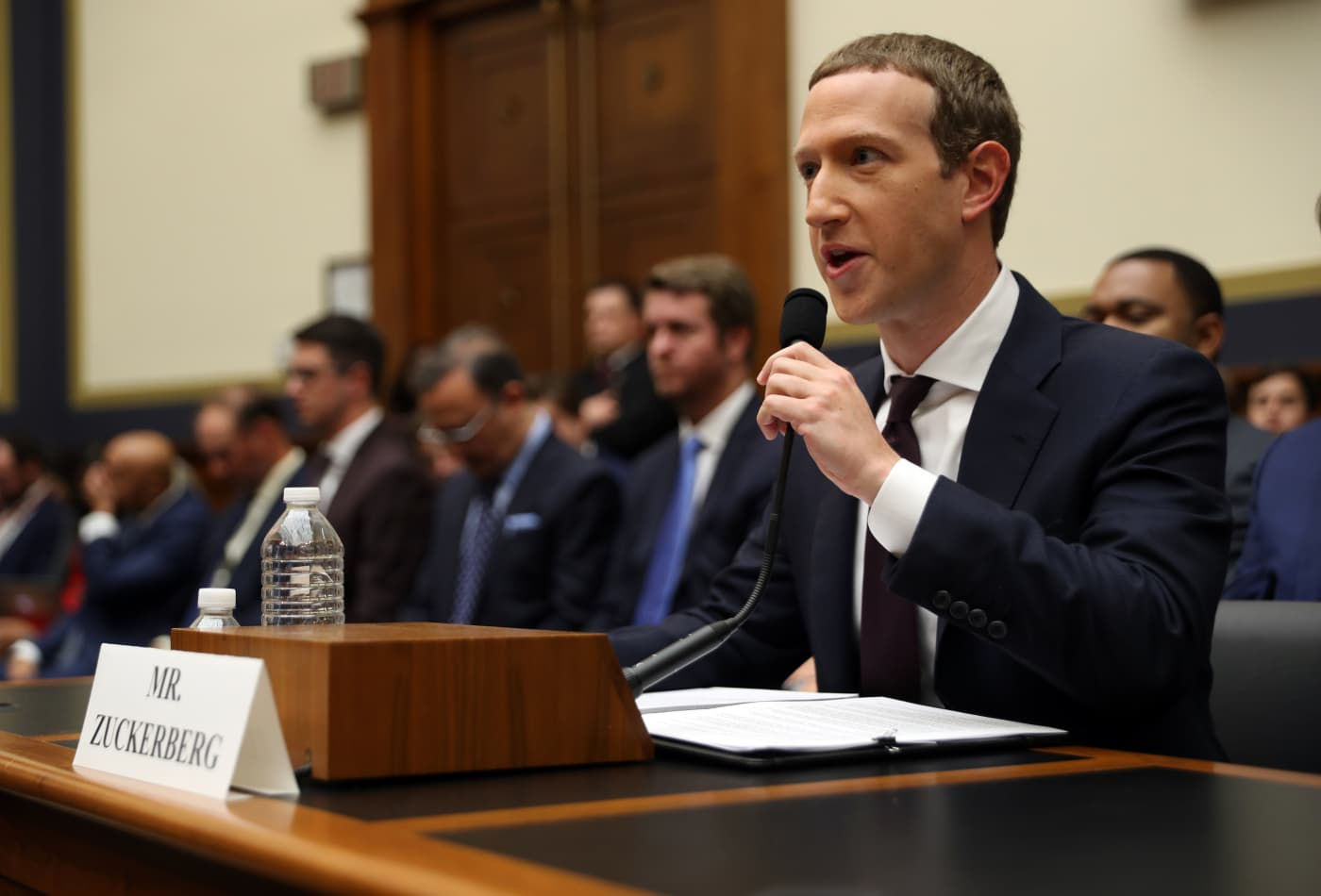 Zuckerberg: Facebook 'would be forced to leave' the Libra Association if it moves forward before regulators approve