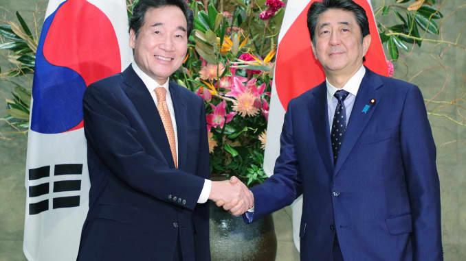 JAPAN-SKOREA-DIPLOMACY