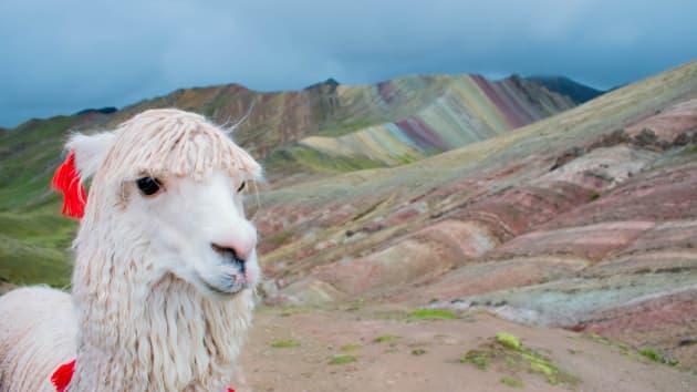 A perui Szivárvány Hegy