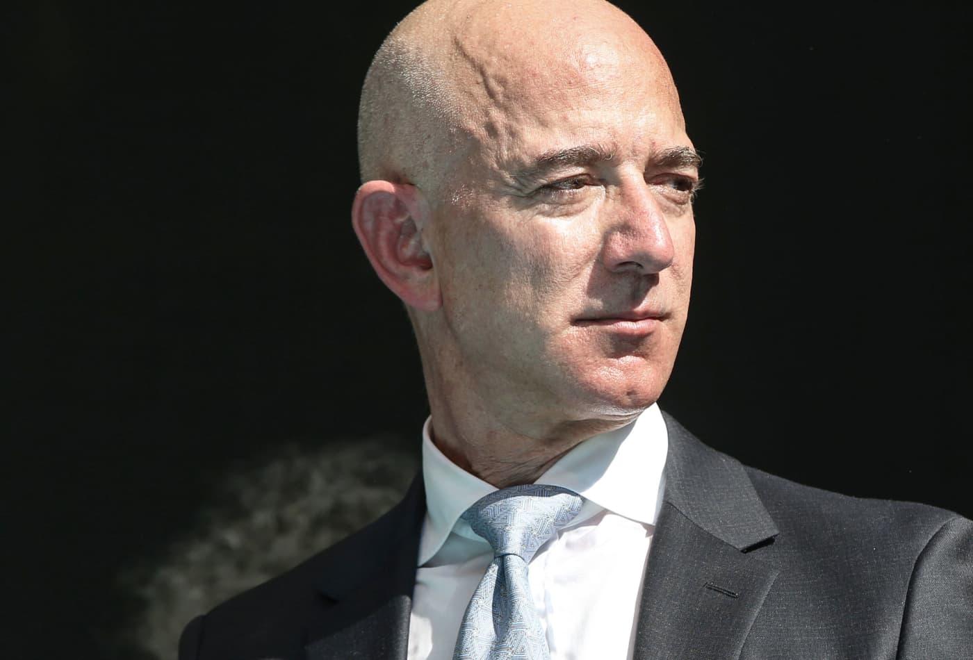 Amazon CEO Jeff Bezos on October 02, 2019.
