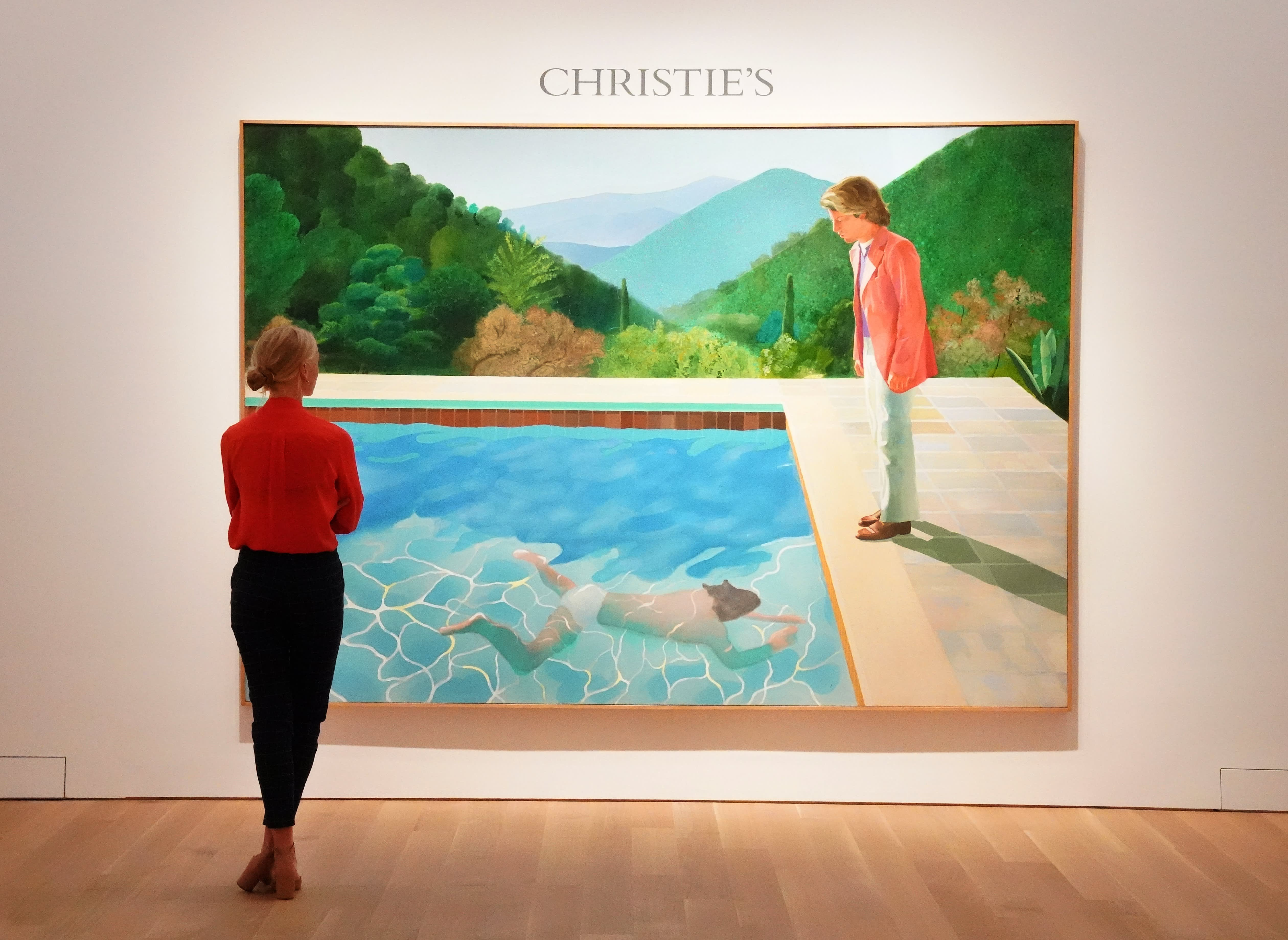 How Christie's and Sotheby's compete to auction pricey art